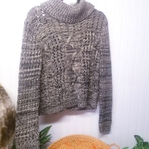 14th & Union Nordstrom Open Back Sweater Sz M